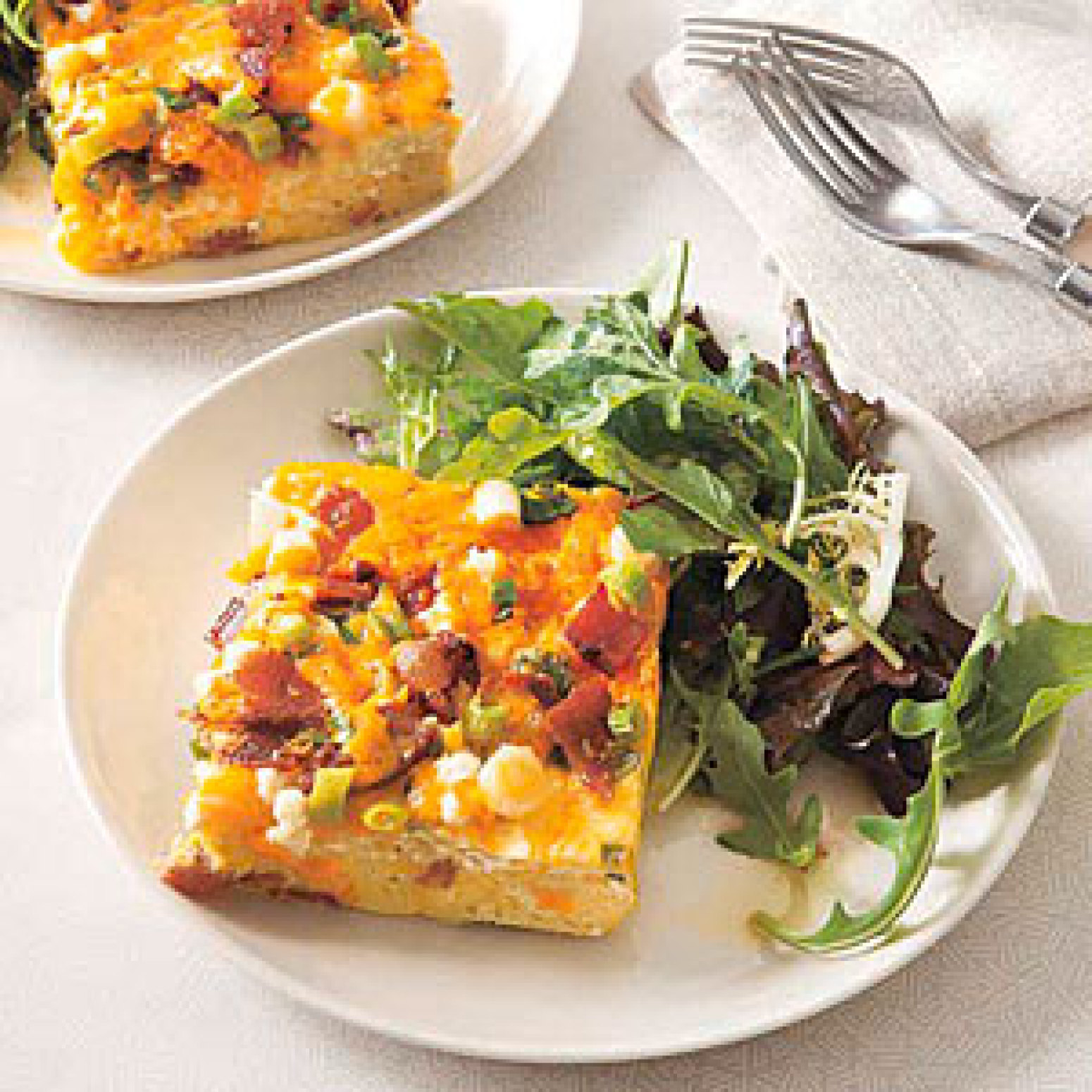 Bacon and Cheese Frittata Recipe | Just A Pinch Recipes