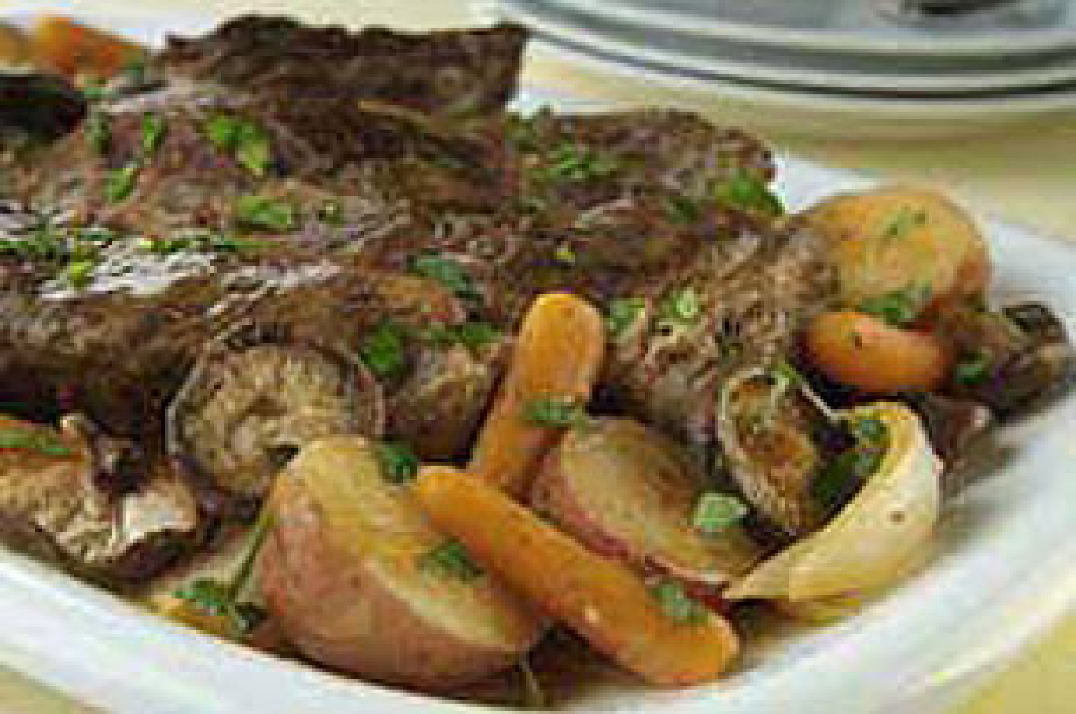 Beef Pot Roast and Winter Vegetables Recipe | Just A Pinch Recipes