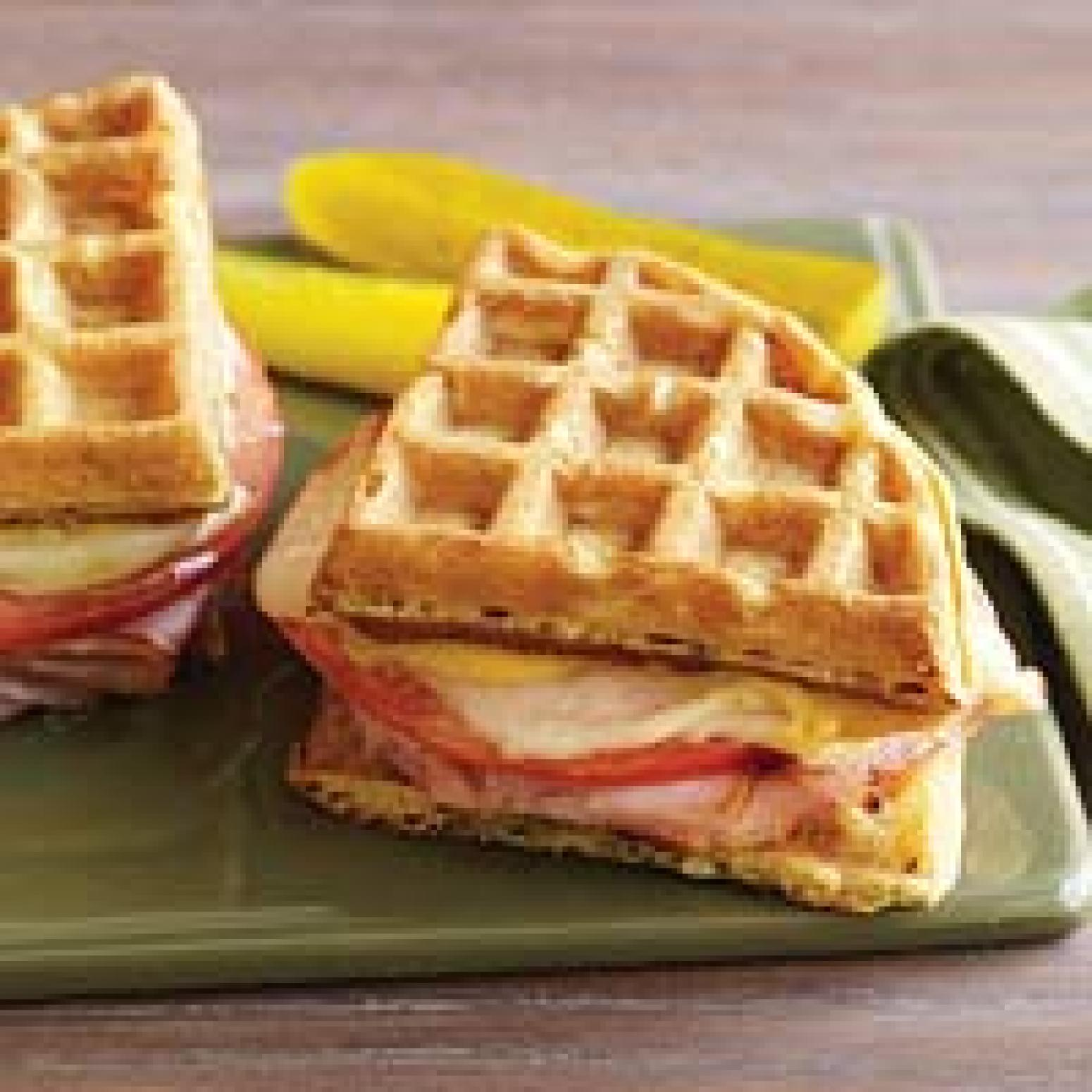 Ham-and-Cheese Waffles Recipes — Dishmaps