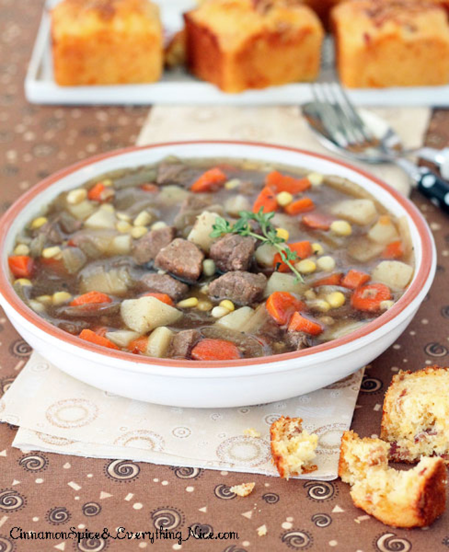 Red Wine Beef Stew Recipe 2 | Just A Pinch Recipes