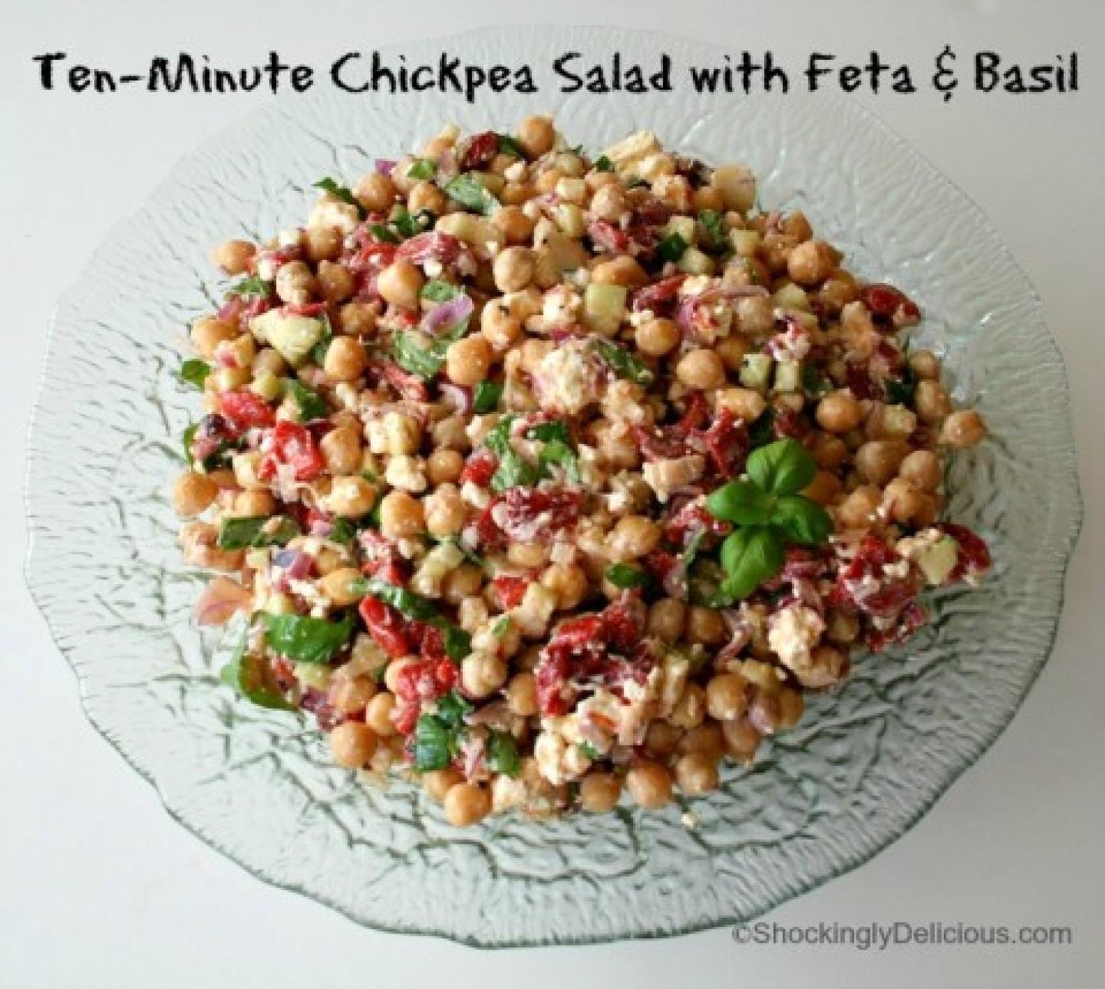 Mediterranean Chickpea Salad Food Network