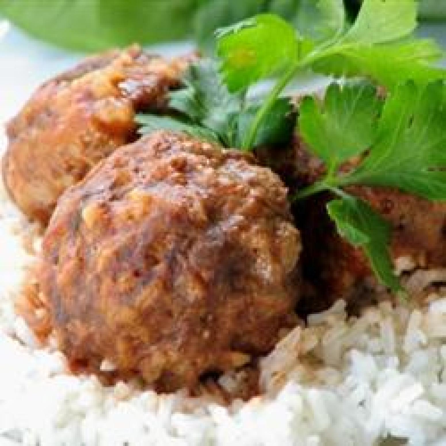 Zesty Porcupine Meatballs Recipe | Just A Pinch Recipes