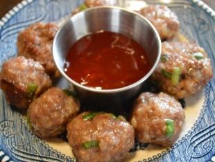 Chinese Pork Meatballs Recipe
