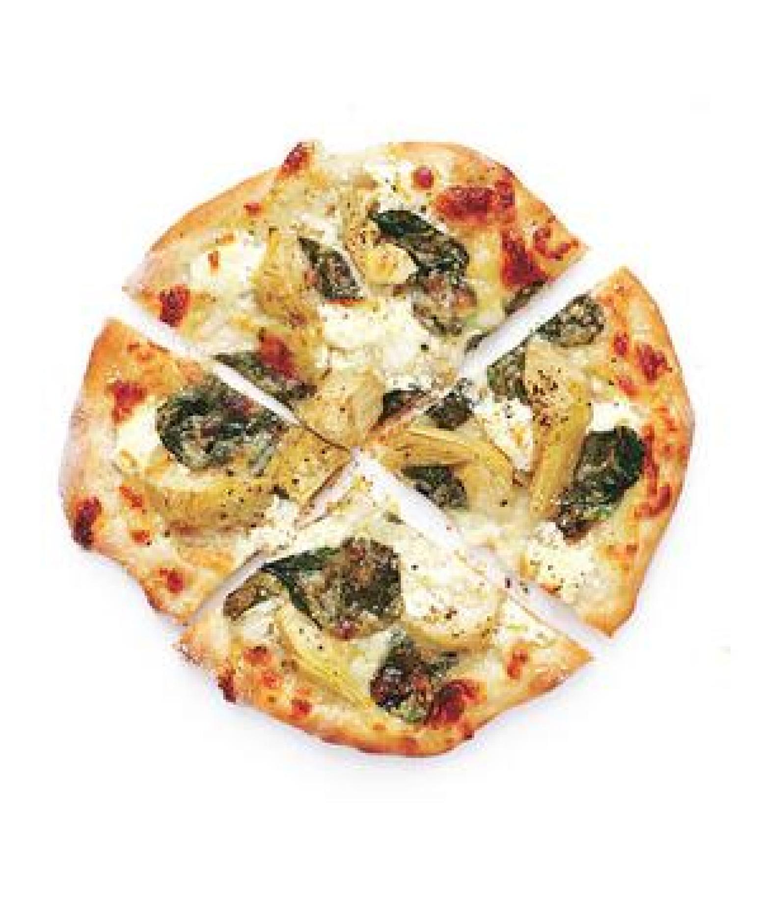 Spinach and Artichoke Pizzas Recipe | Just A Pinch Recipes