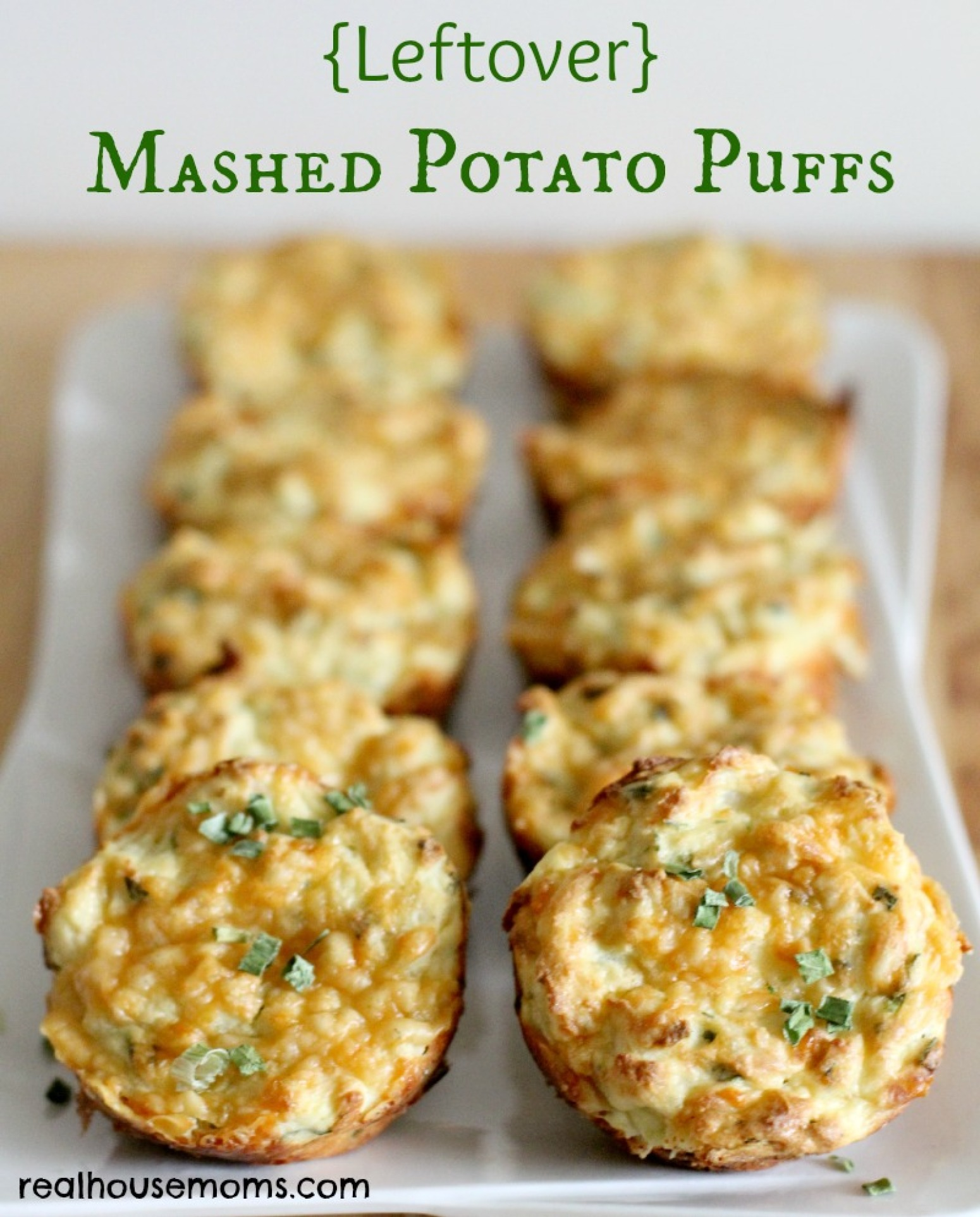 Leftover} Mashed Potato Puffs Recipe 2 | Just A Pinch Recipes