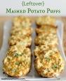 {Leftover} Mashed Potato Puffs Recipe