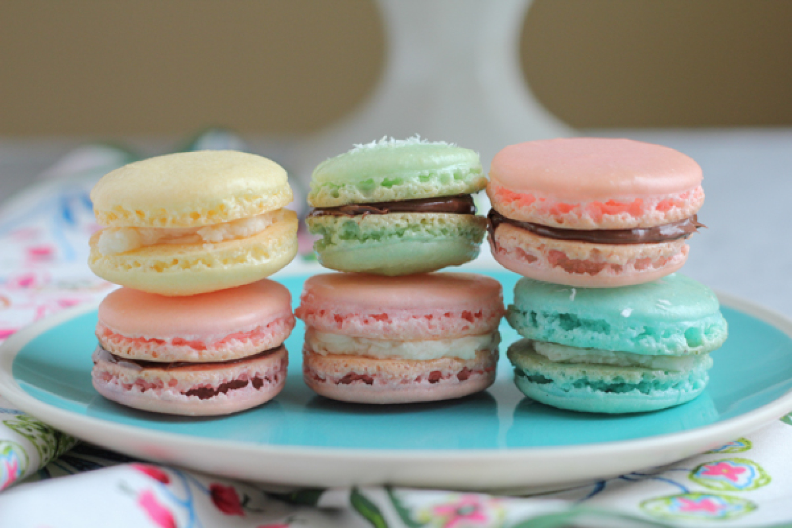 Springtime French Macarons Recipe | Just A Pinch Recipes
