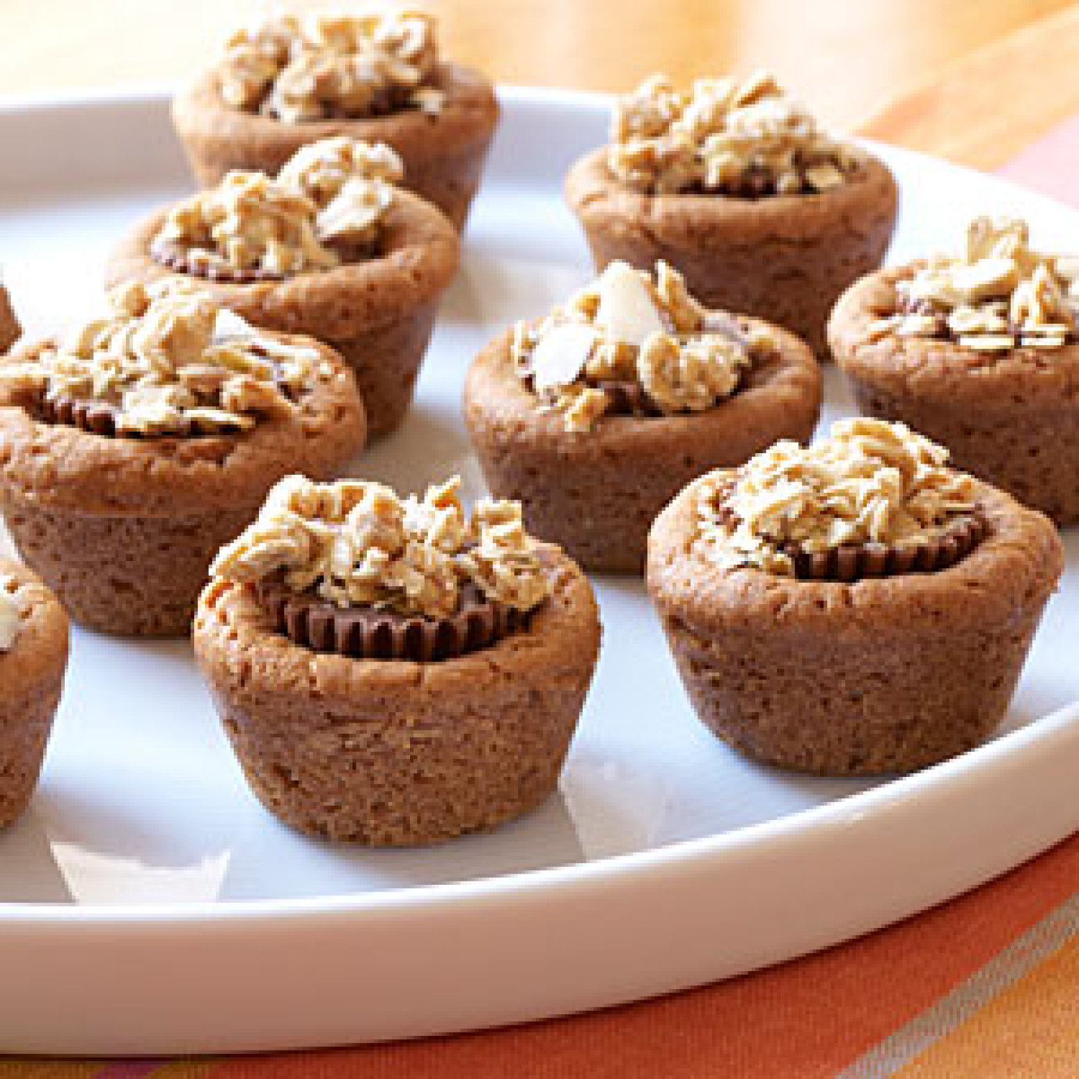 Double Peanut Butter Candy Bites with Granola Recipe | Just A Pinch ...