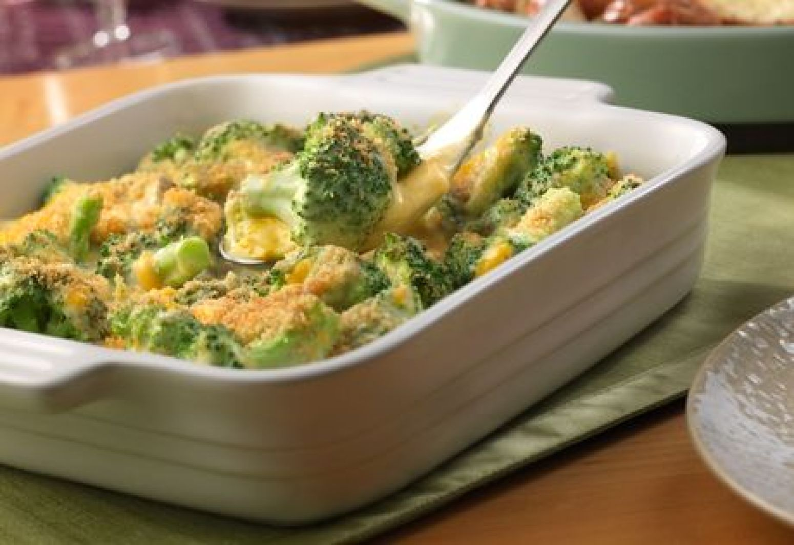 Campbell S Broccoli Amp Cheese Casserole Recipe 3 Just A