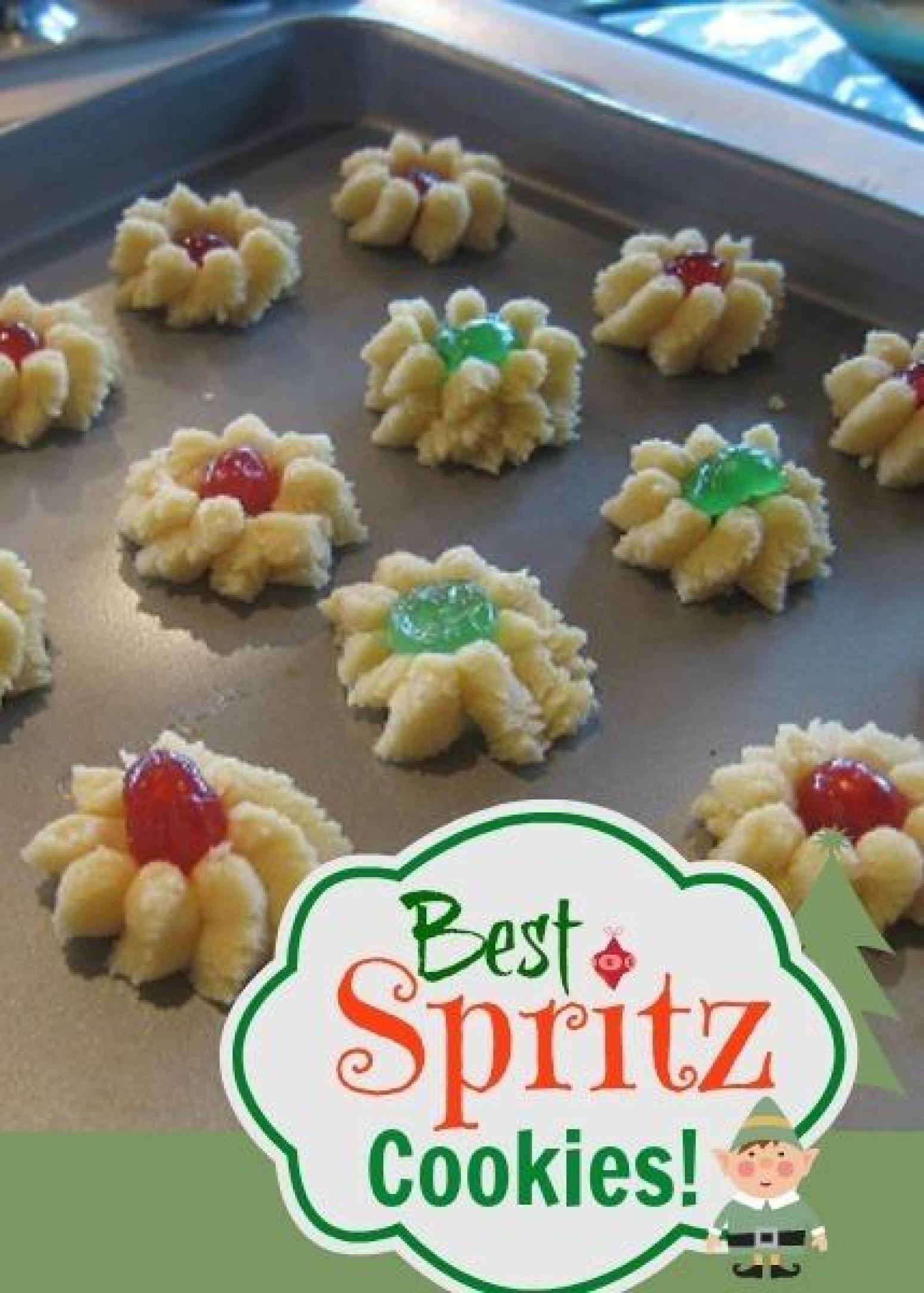 Spritz Cookie Dough Recipe | Just A Pinch Recipes