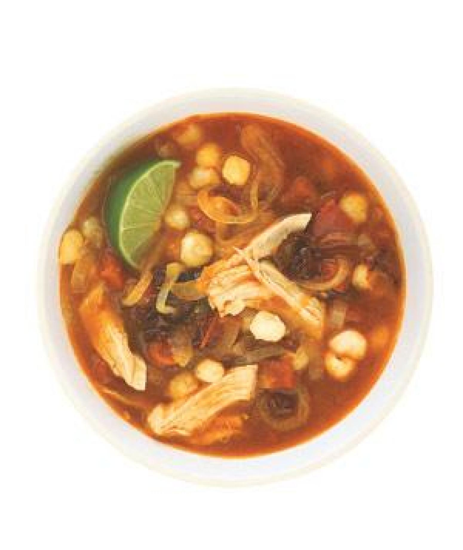how to make red pozole with chicken
