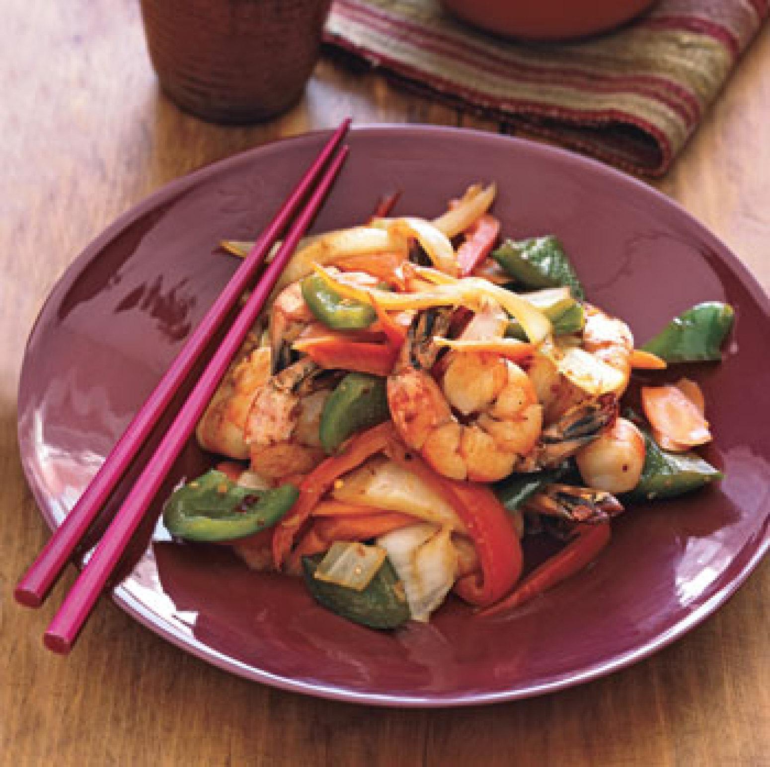 Spicy Shrimp Stir-Fry Recipe