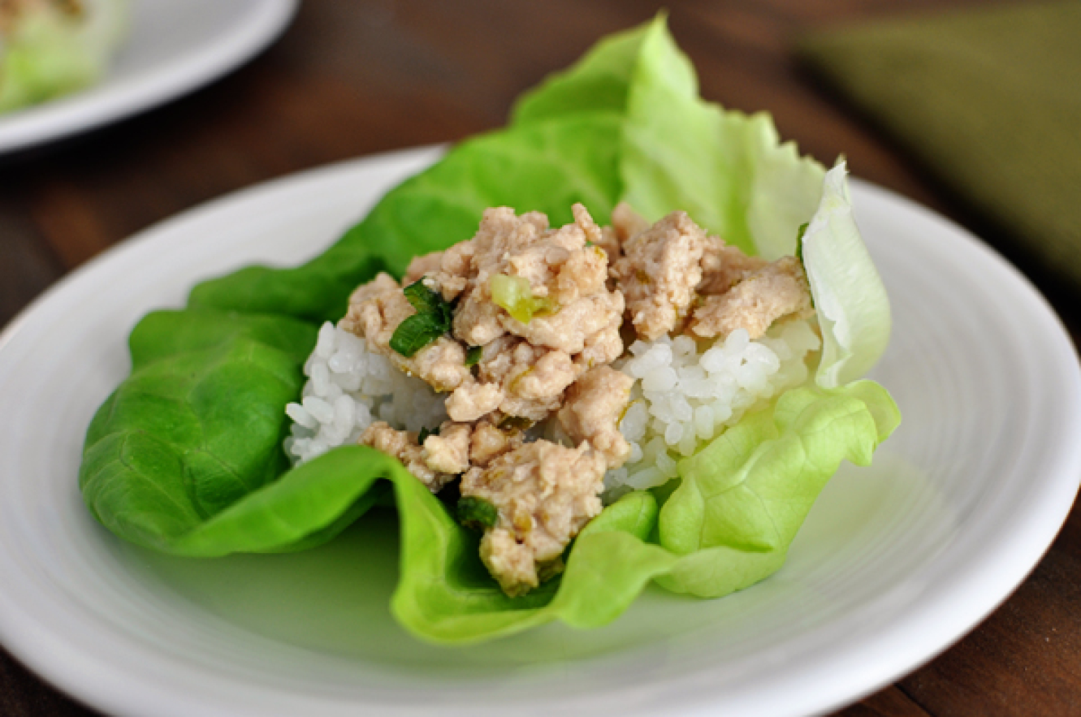 Asian Chicken Lettuce Wraps {Quick and Delish} Recipe | Just A Pinch ...