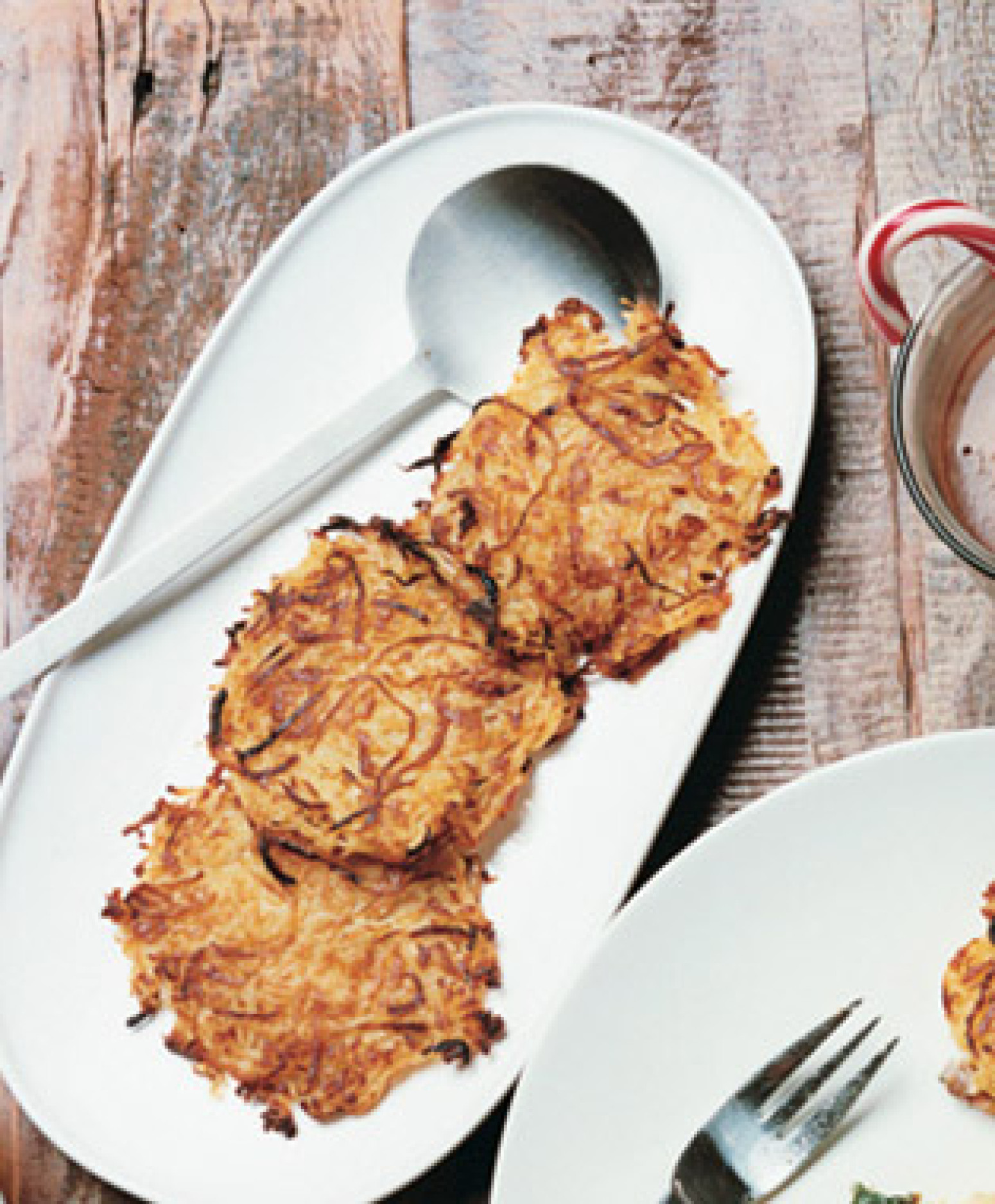 Oven-Roasted Hash Brown Cakes Recipe | Epicurious.com | Just A Pinch ...