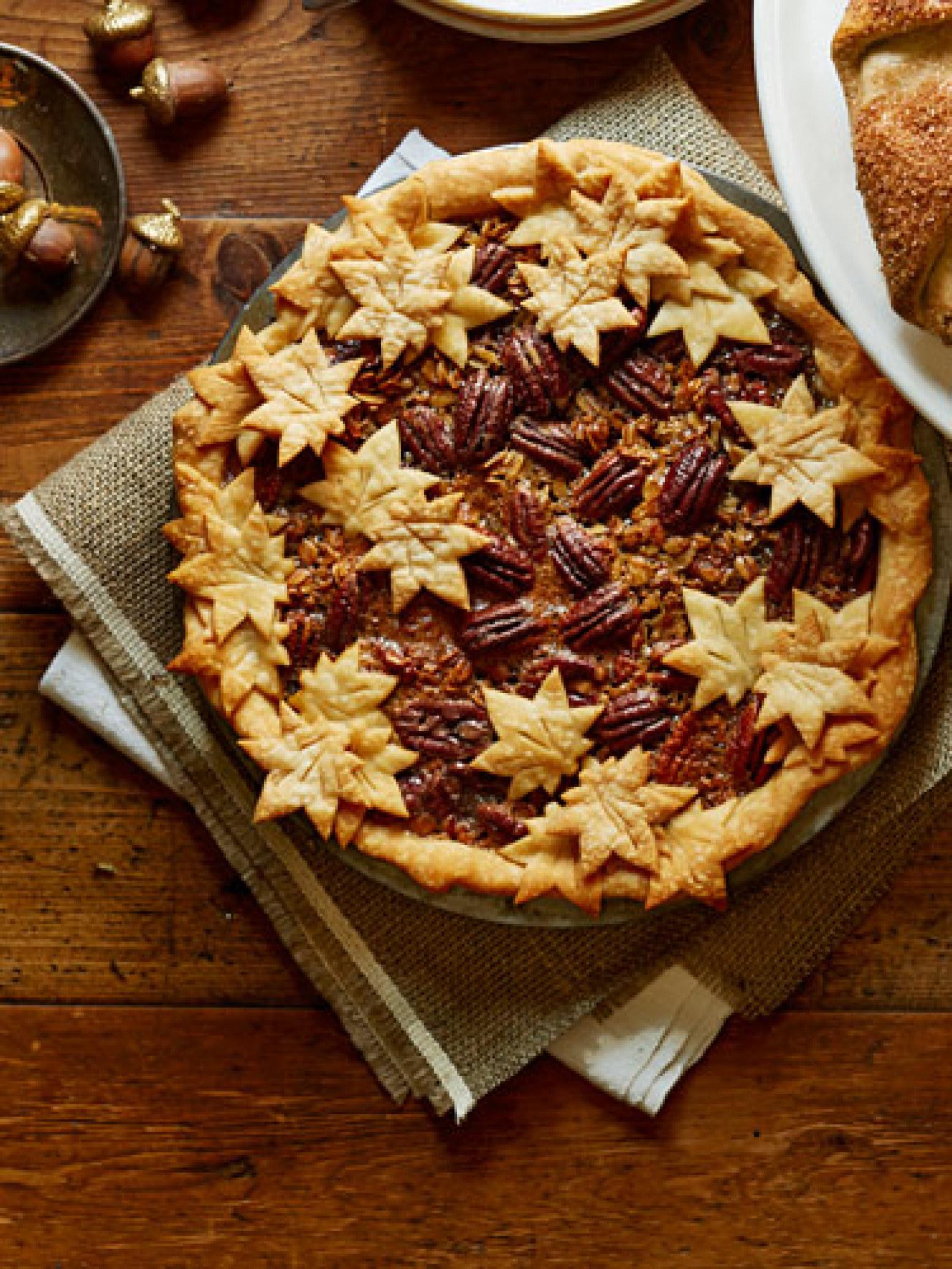 Maple Granola Pecan Pie Recipe   Just A Pinch Recipes