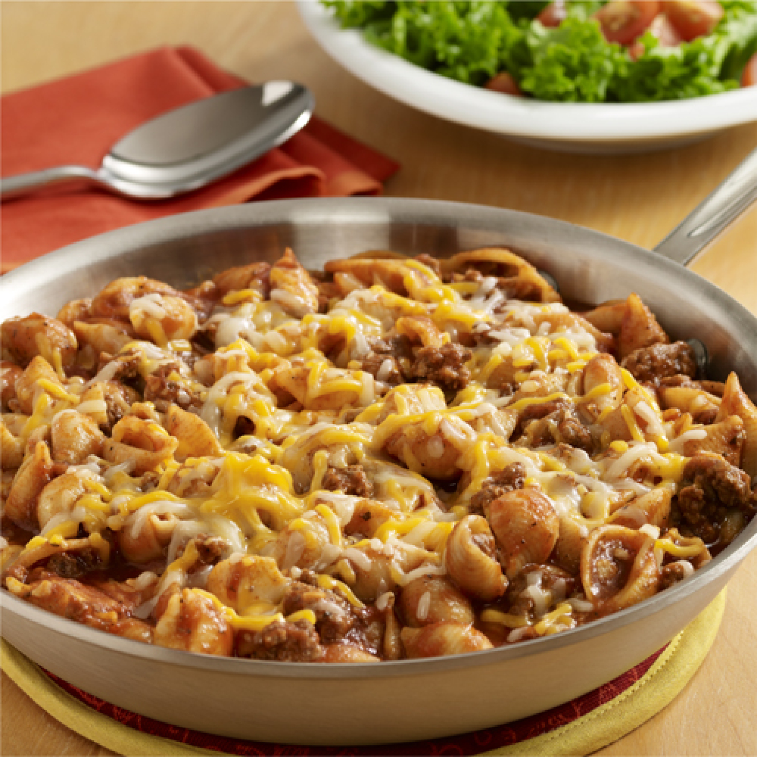 Cheeseburger Pasta Skillet Recipe