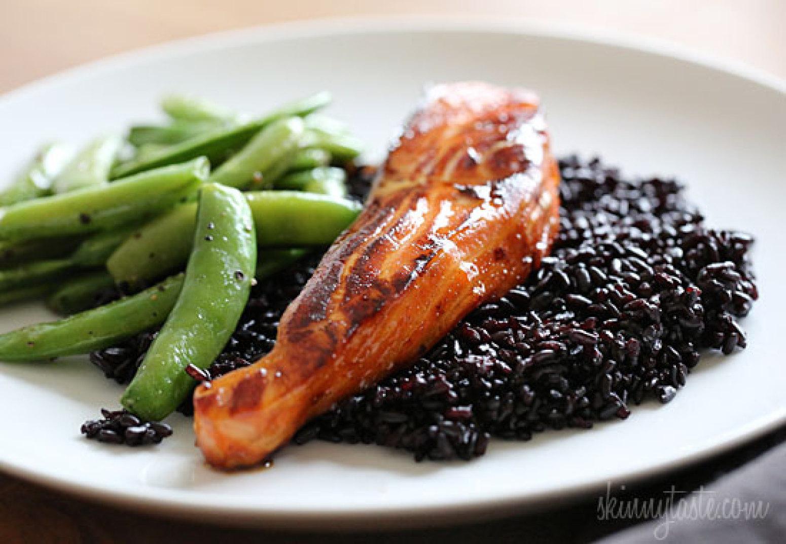 Honey-Teriyaki Salmon Recipe   Just A Pinch Recipes