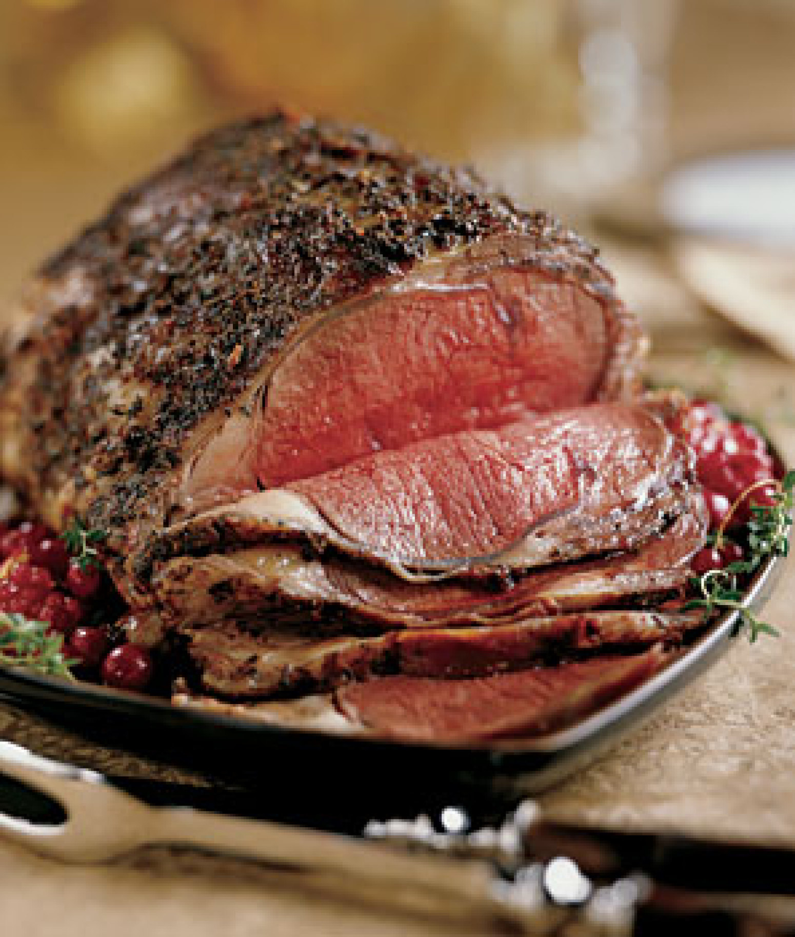 Ann Seranne's Rib Roast Of Beef Recipe — Dishmaps