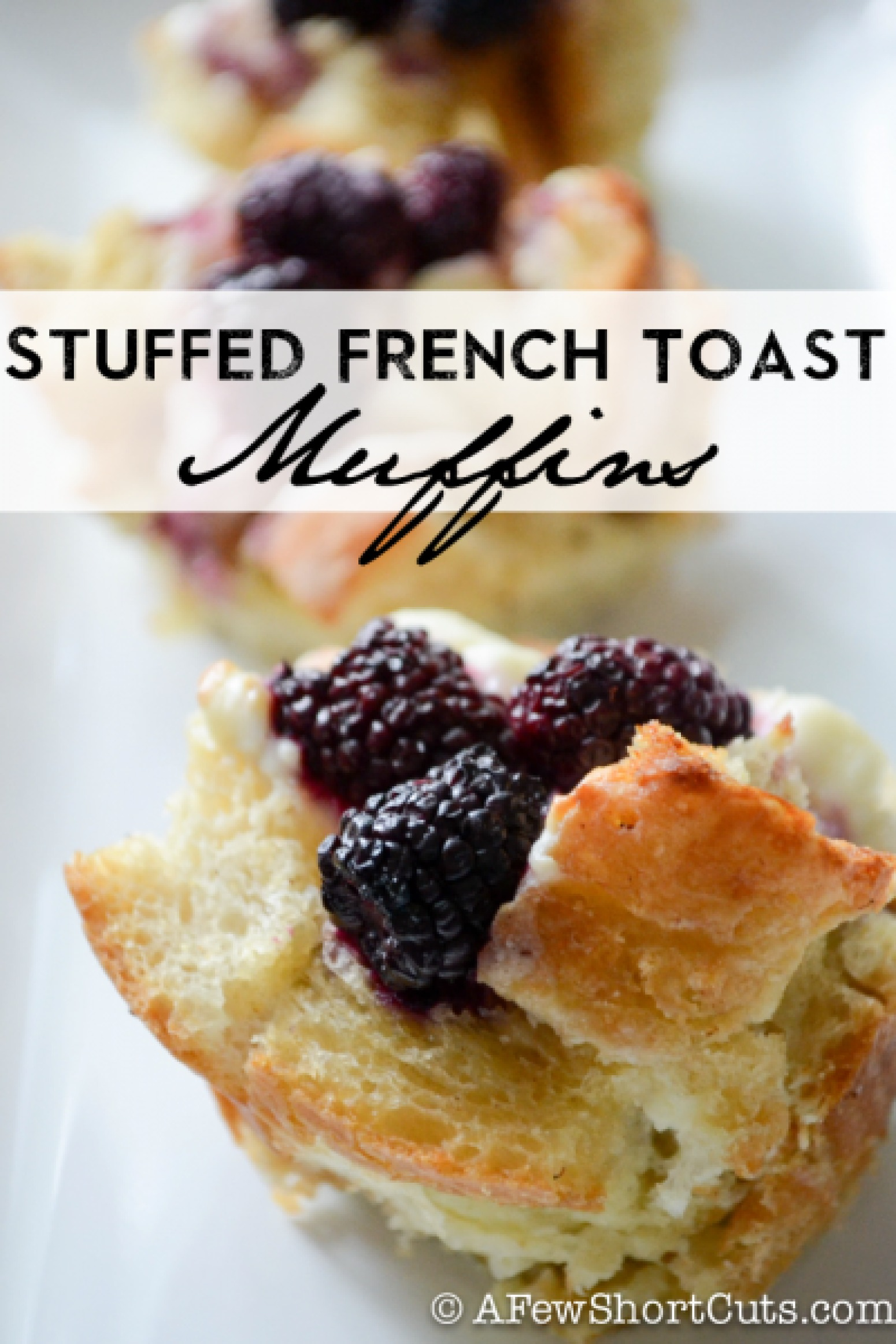 Stuffed French Toast Muffins Recipe | Just A Pinch Recipes