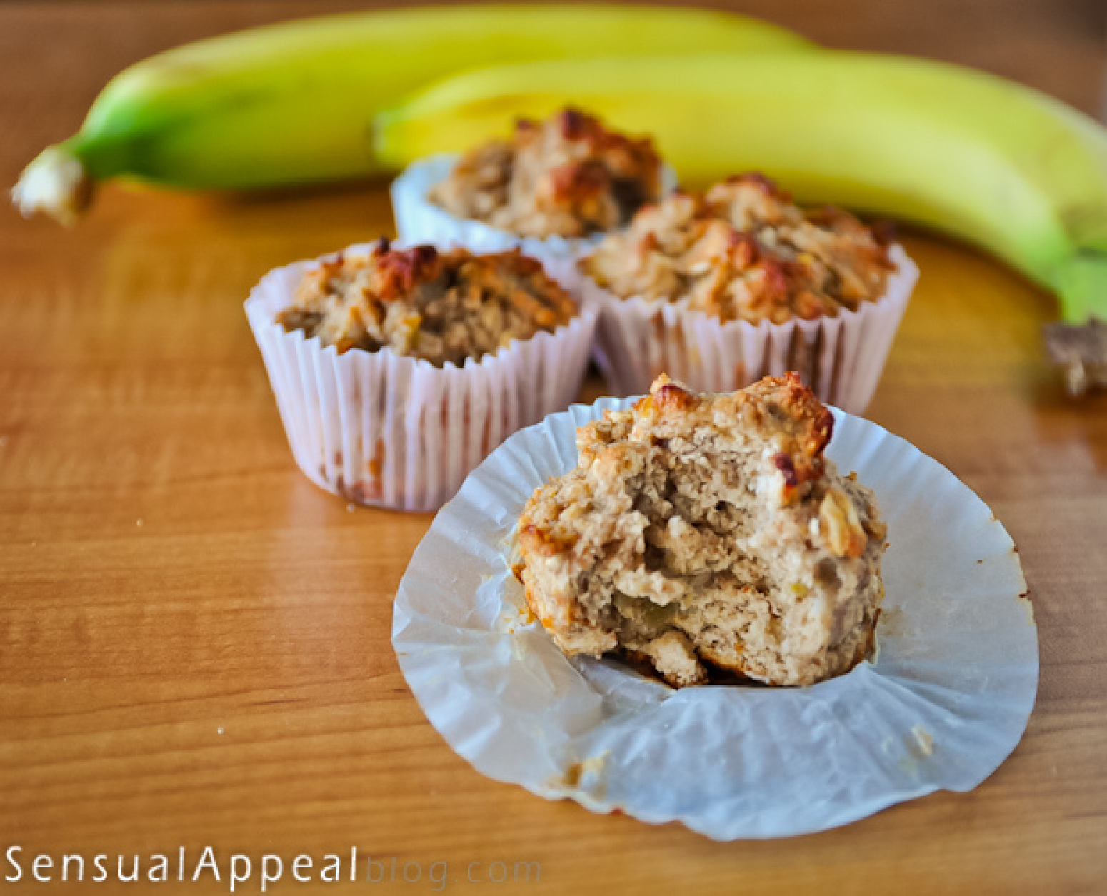 Banana Bread Muffins (low calorie/no sugar added/high protein) Recipe ...
