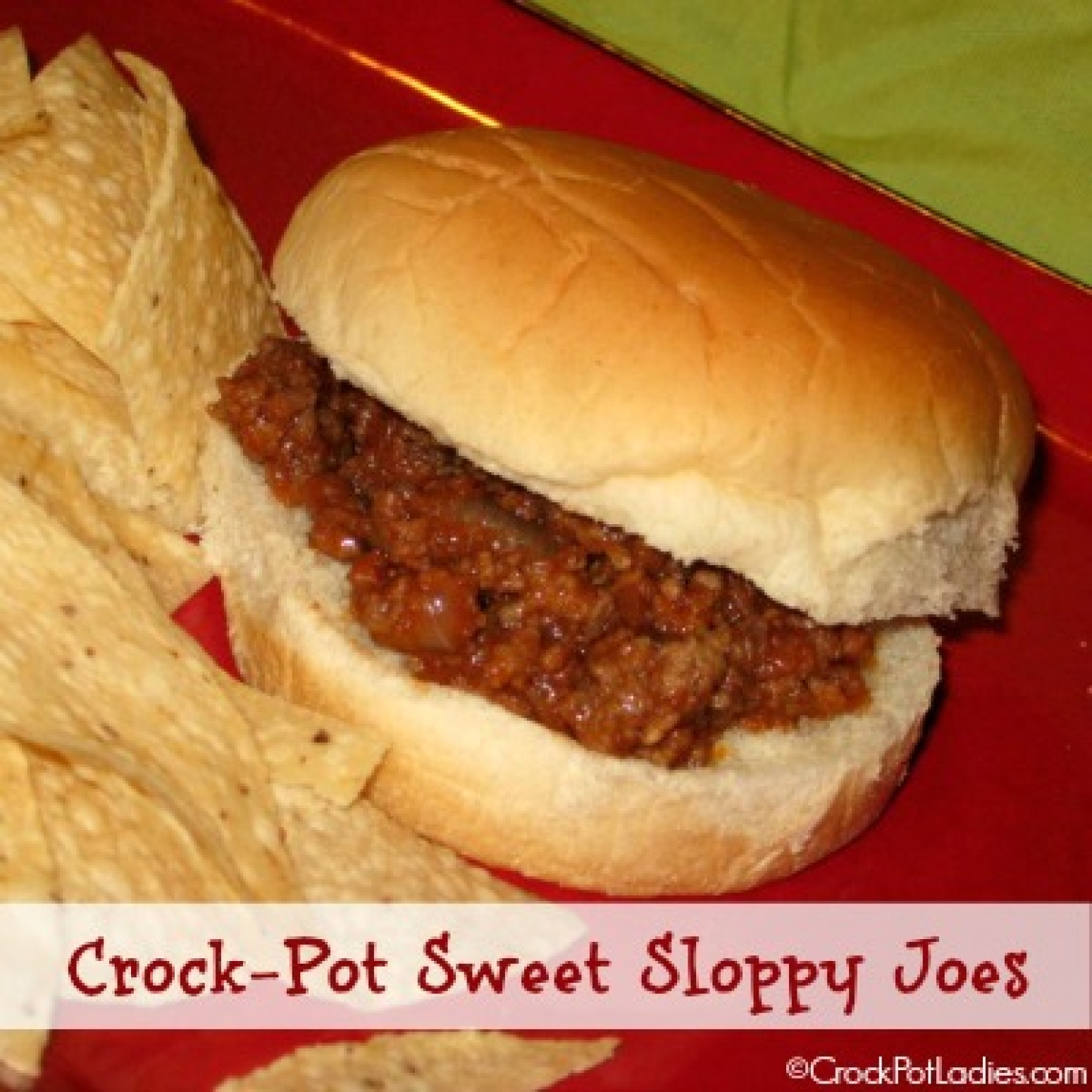 Crock-Pot Sweet Sloppy Joes Recipe | Just A Pinch Recipes