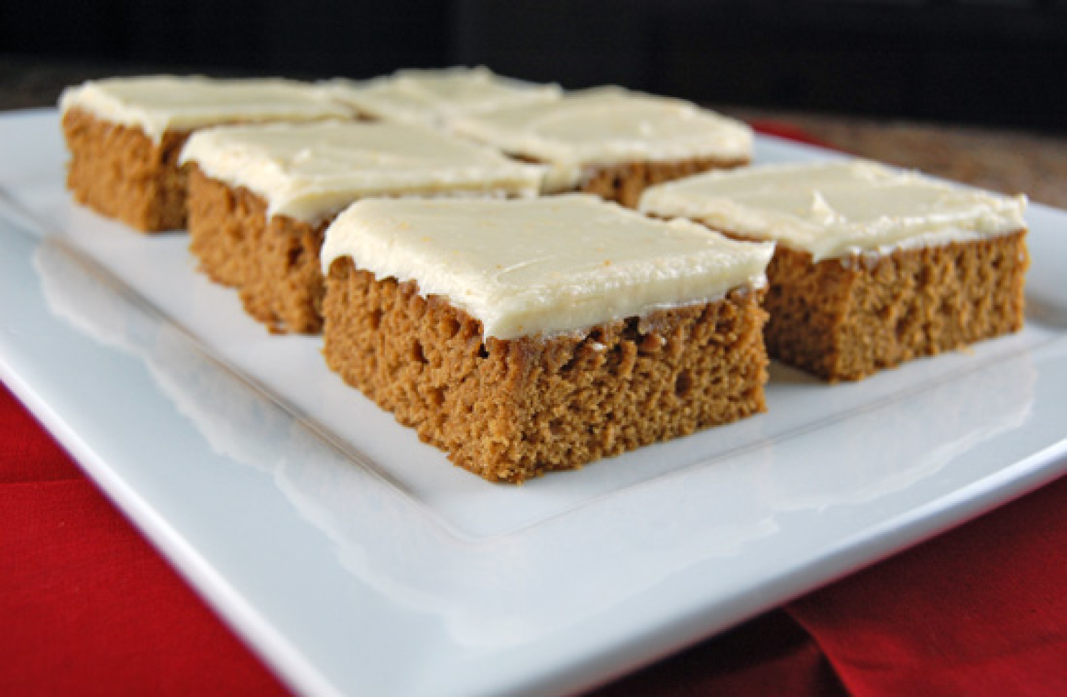 Gingerbread Bars with Orange Cream Cheese Frosting Recipe ...