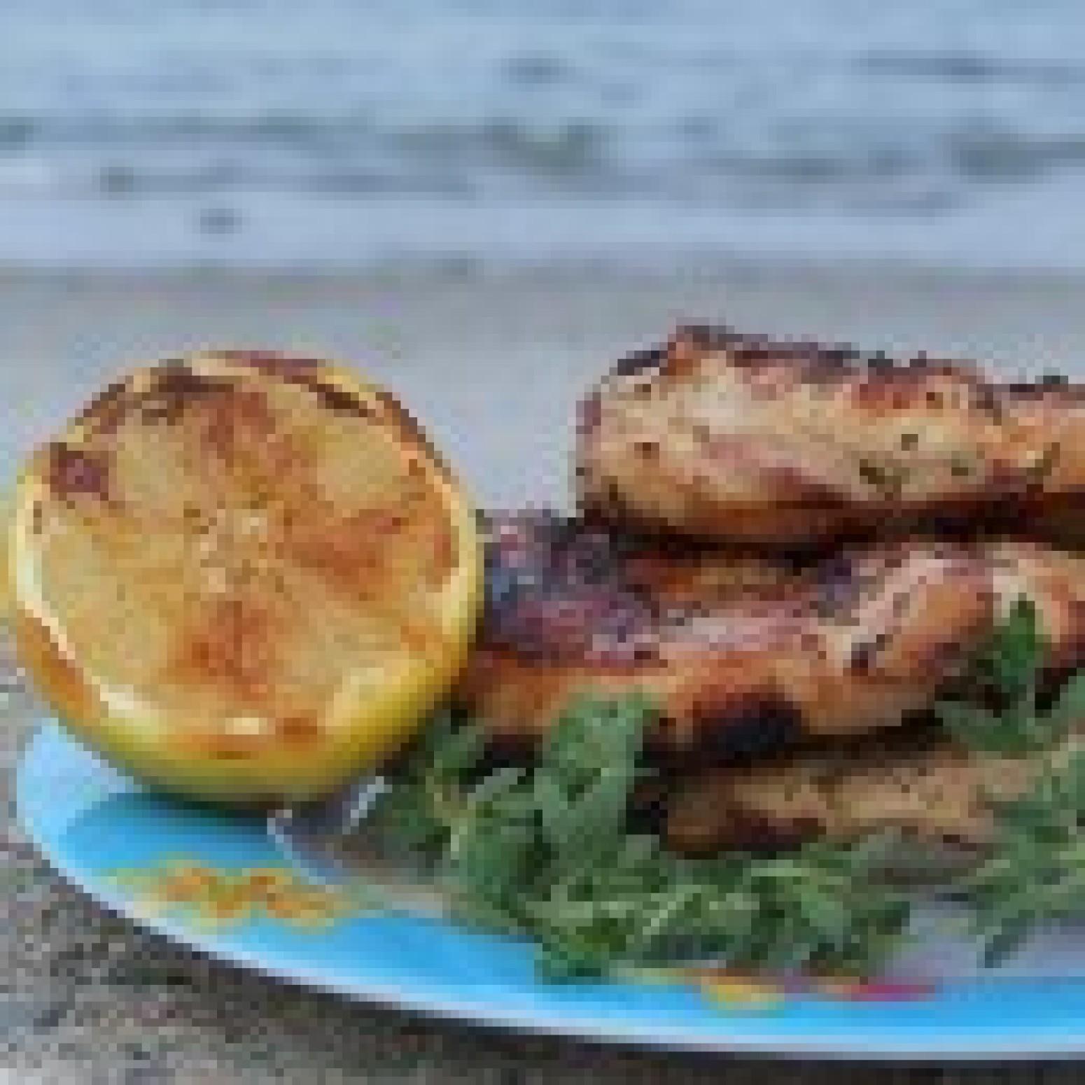 Grilled Chicken w Lemon & Oregano Recipe | Just A Pinch Recipes