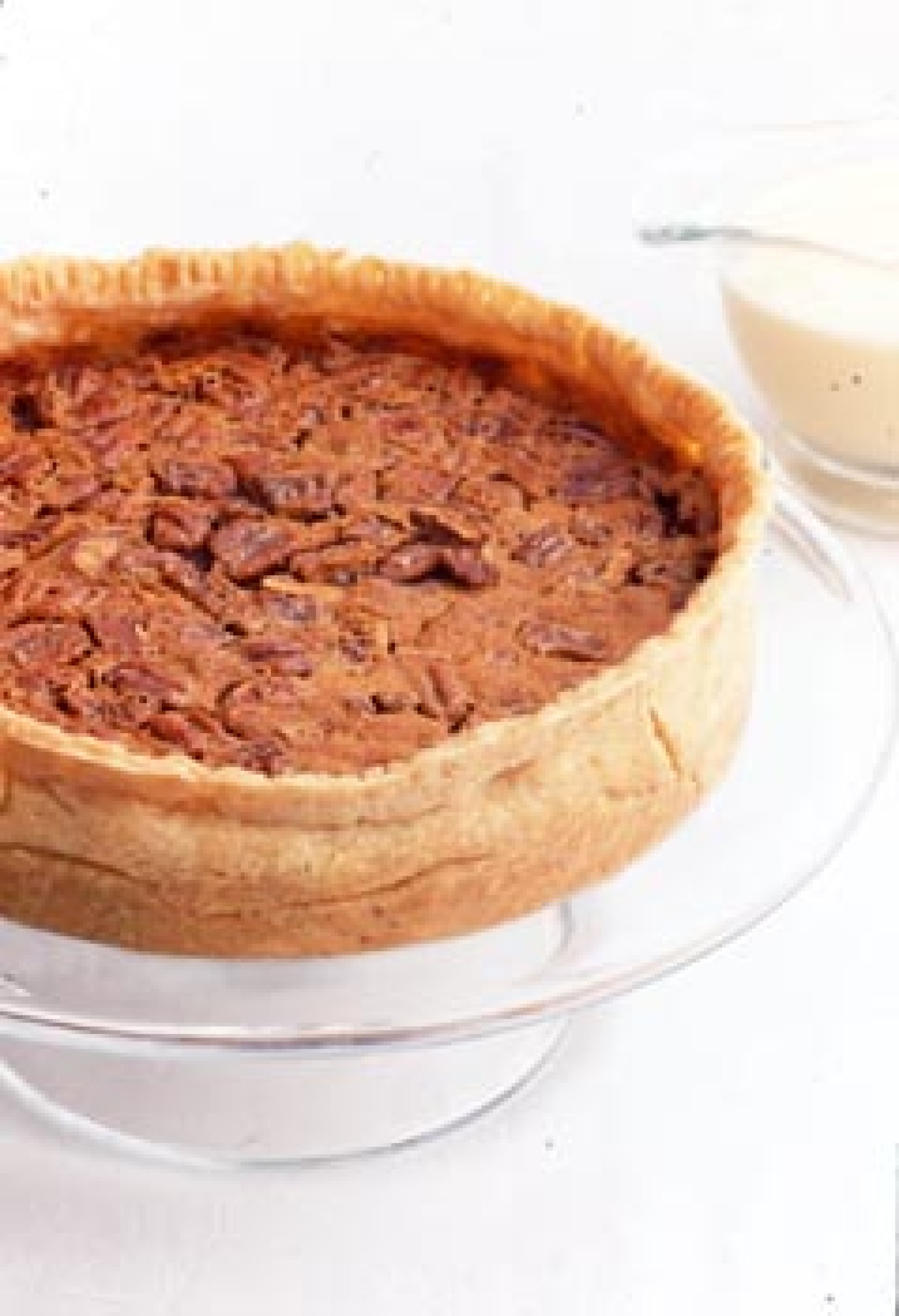 Pumpkin-Pecan Pie with Whiskey Butter Sauce Recipe | Epicurious.com ...