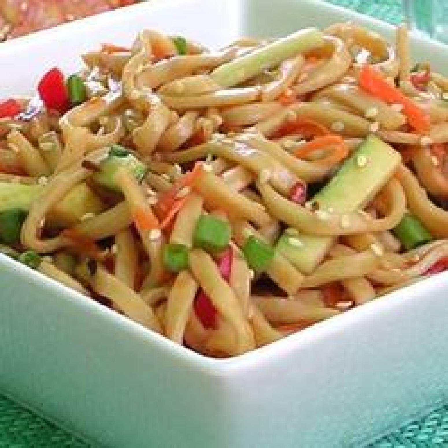 Shanghai Noodle Salad Recipe | Just A Pinch Recipes