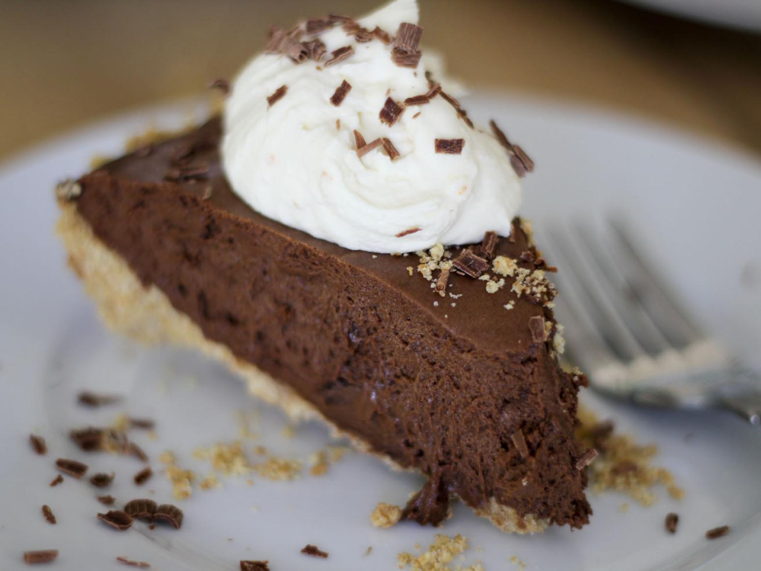 Chocolate French Silk Pie Recipe 2   Just A Pinch Recipes