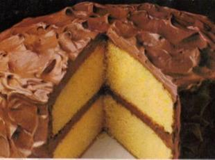 Yellow  Fluffy Layer Cake By Freda