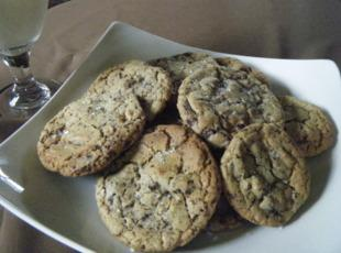 Salted Mocha Chocolate Chip Cookies Recipe