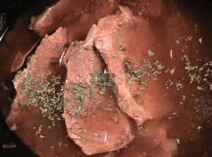 Steak in The Crock Pot Recipe