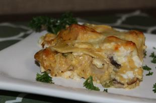 4 Cheese Chicken Lasagna Recipe