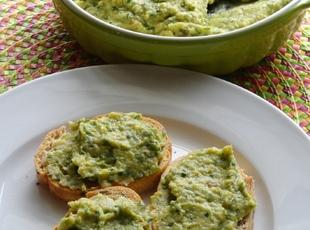 Roasted Garlic Cilantro Jalapeno Hummus Recipe