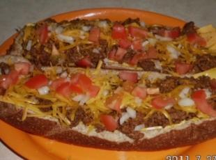 Taco on a bun Recipe