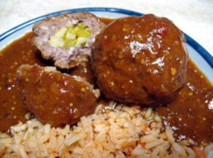 Albondigas y arroz (meatballs and rice) Recipe