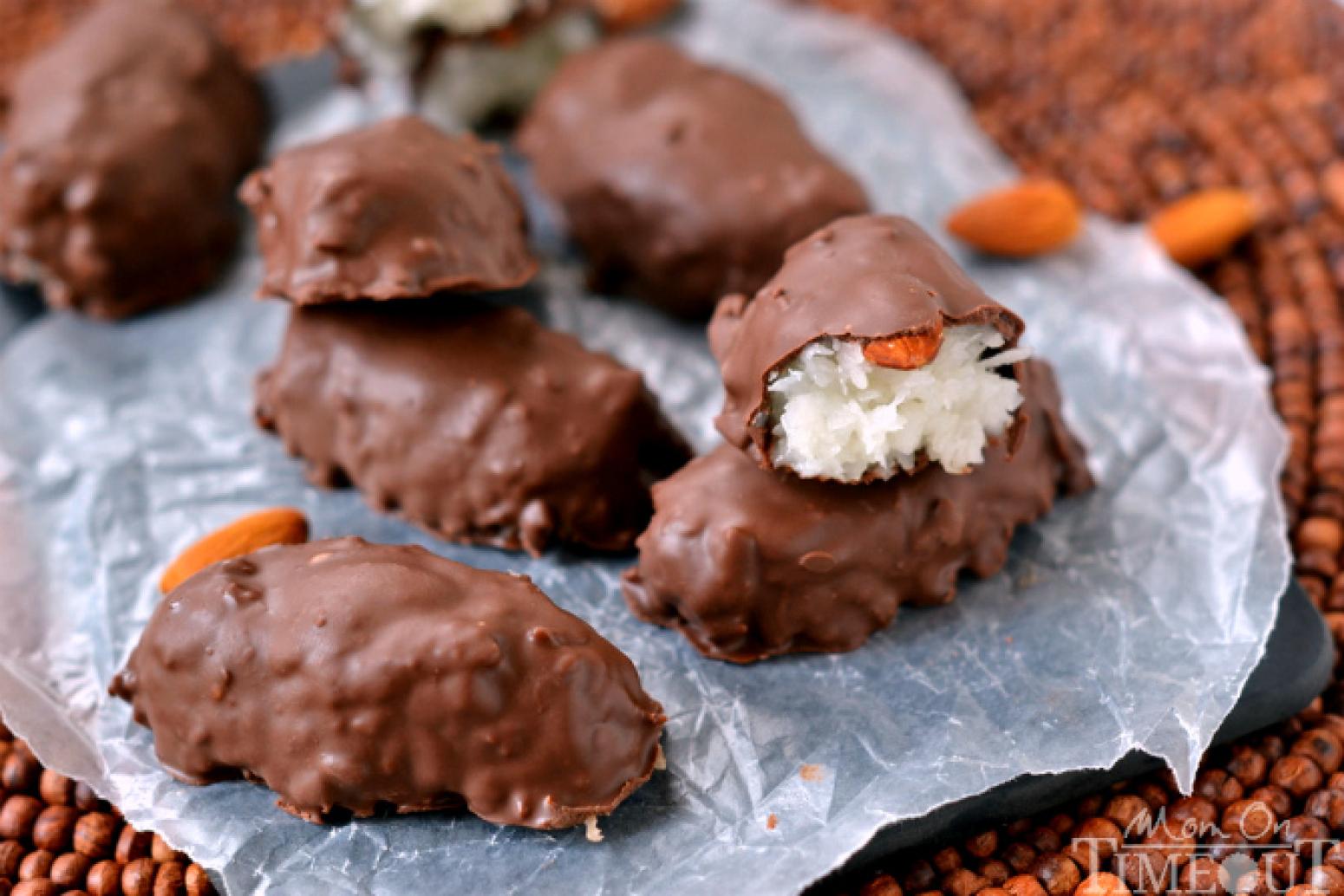 Copycat Almond Joy Candy Bars Recipe | Just A Pinch Recipes