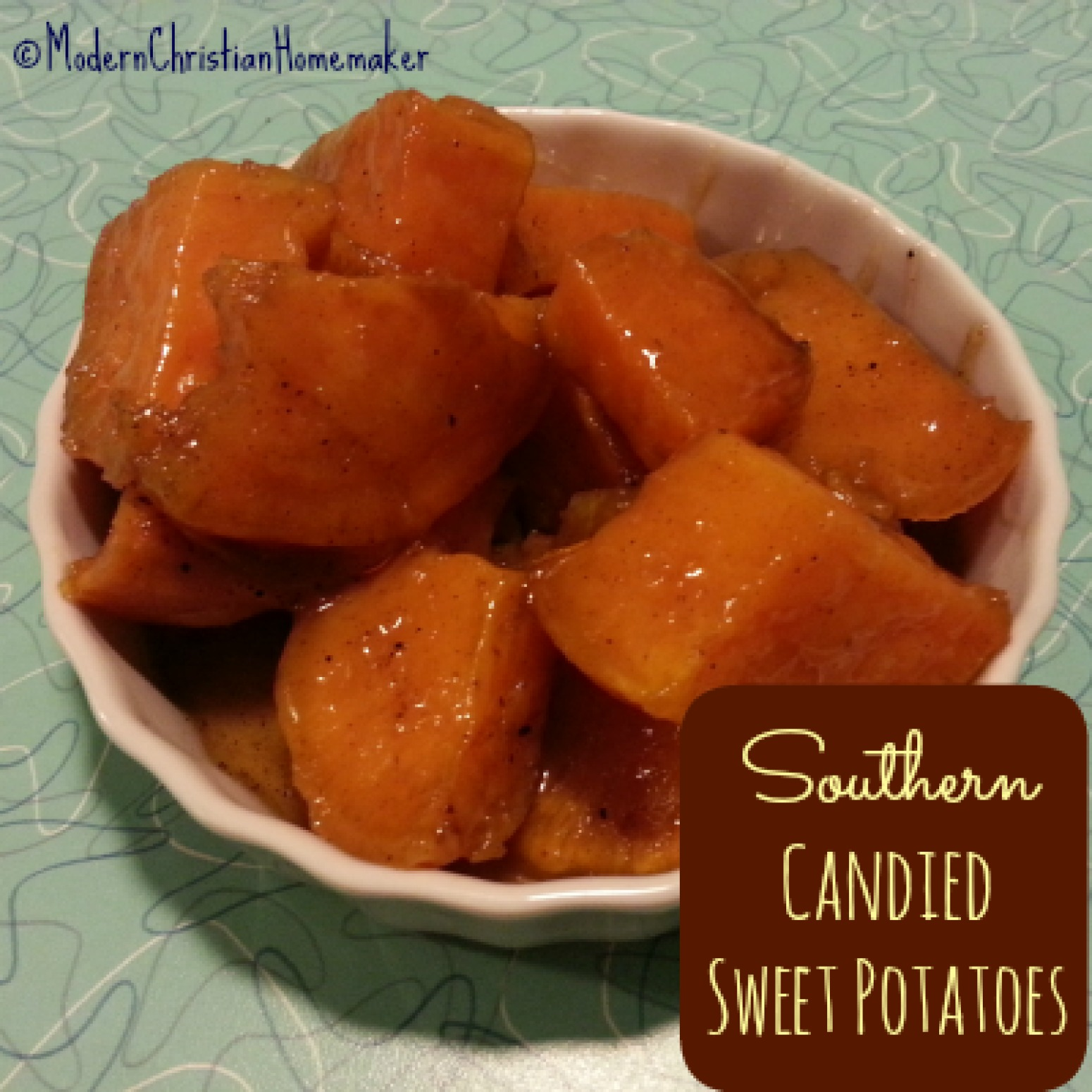 Decadent Southern Candied Sweet Potatoes Recipe