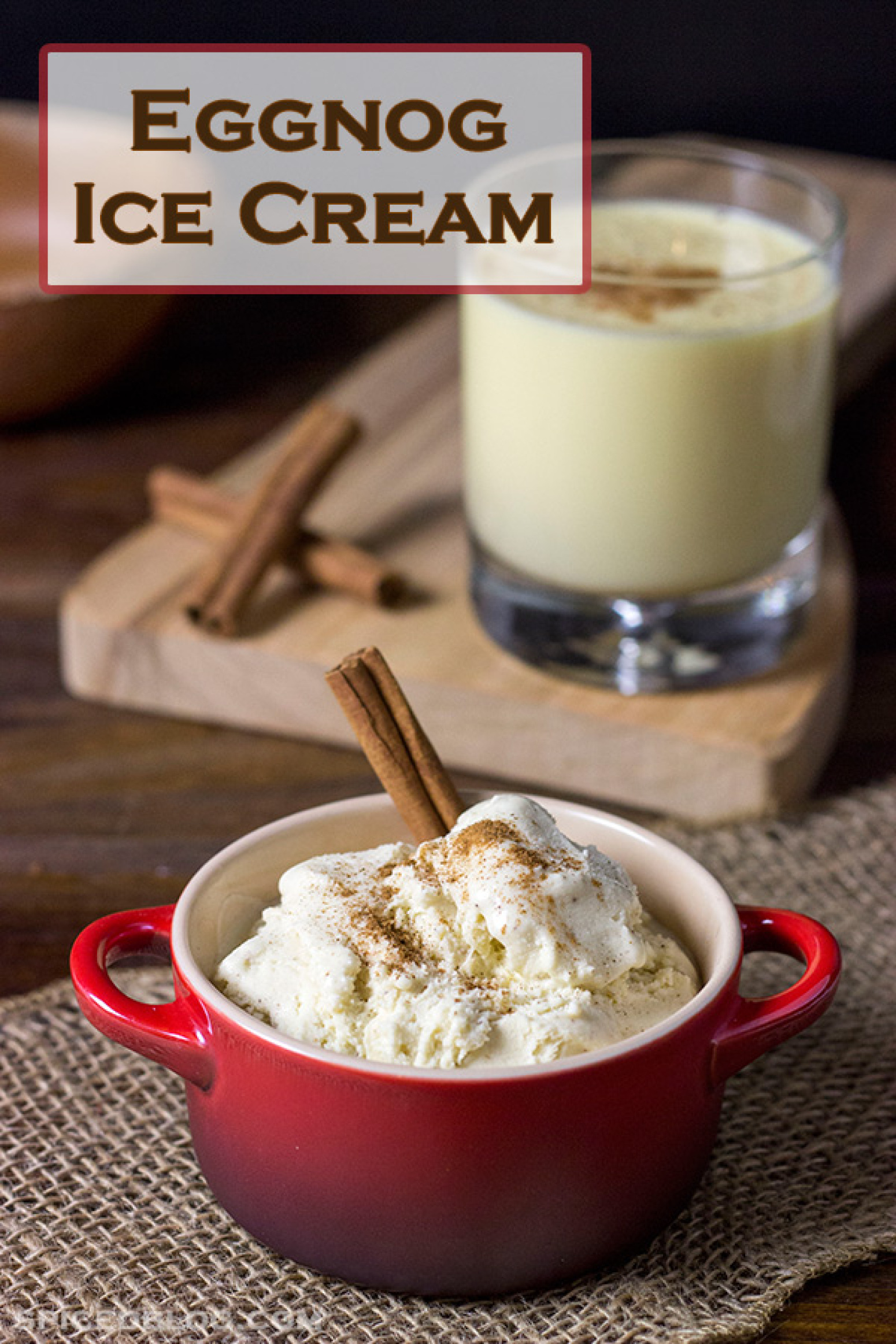 Eggnog Ice Cream Recipe 3 | Just A Pinch Recipes