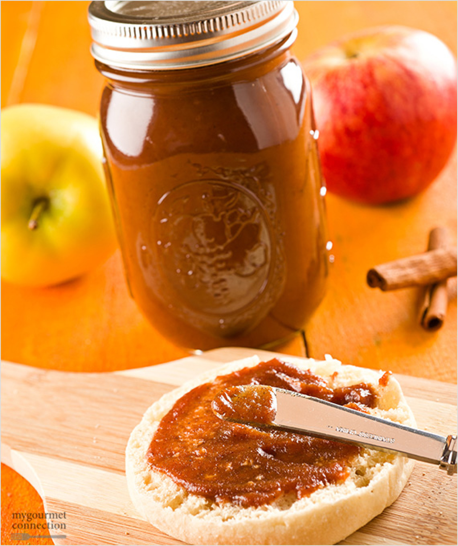 Homemade Slow-Cooker Apple Butter Recipe | Just A Pinch Recipes