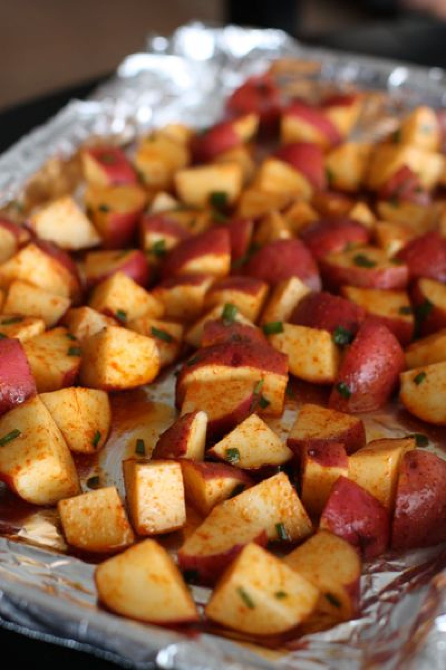 Roasted Red Potatoes with Smoked Paprika Recipe | Just A ...