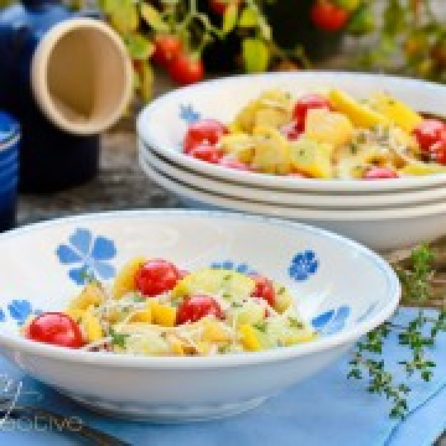 Yellow Summer Squash Recipe with Blistered Tomatoes | Just A Pinch ...