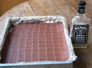 JACK DANIEL'S FUDGE Recipe