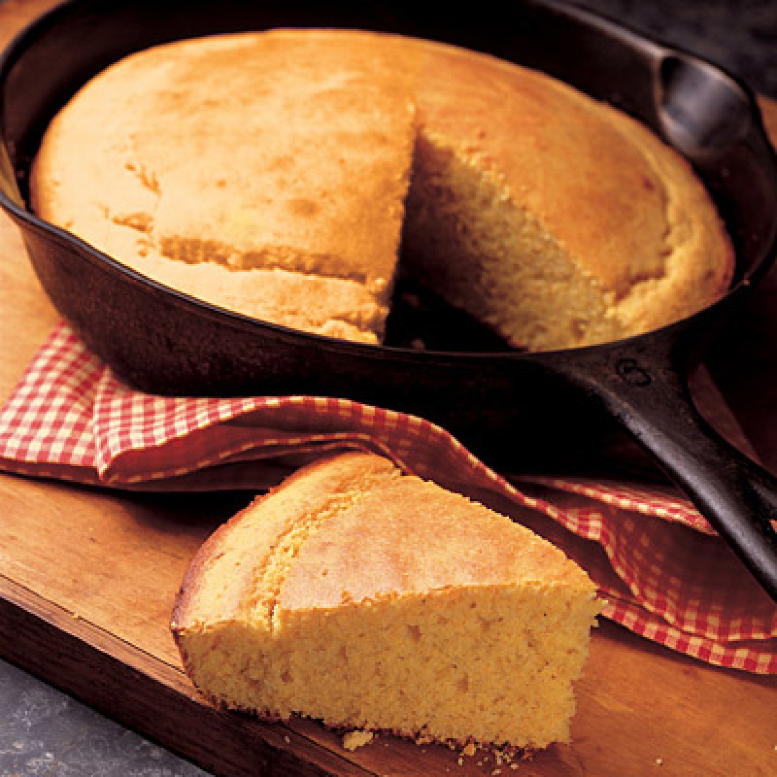 Southern Skillet Cornbread Recipe 2 | Just A Pinch Recipes