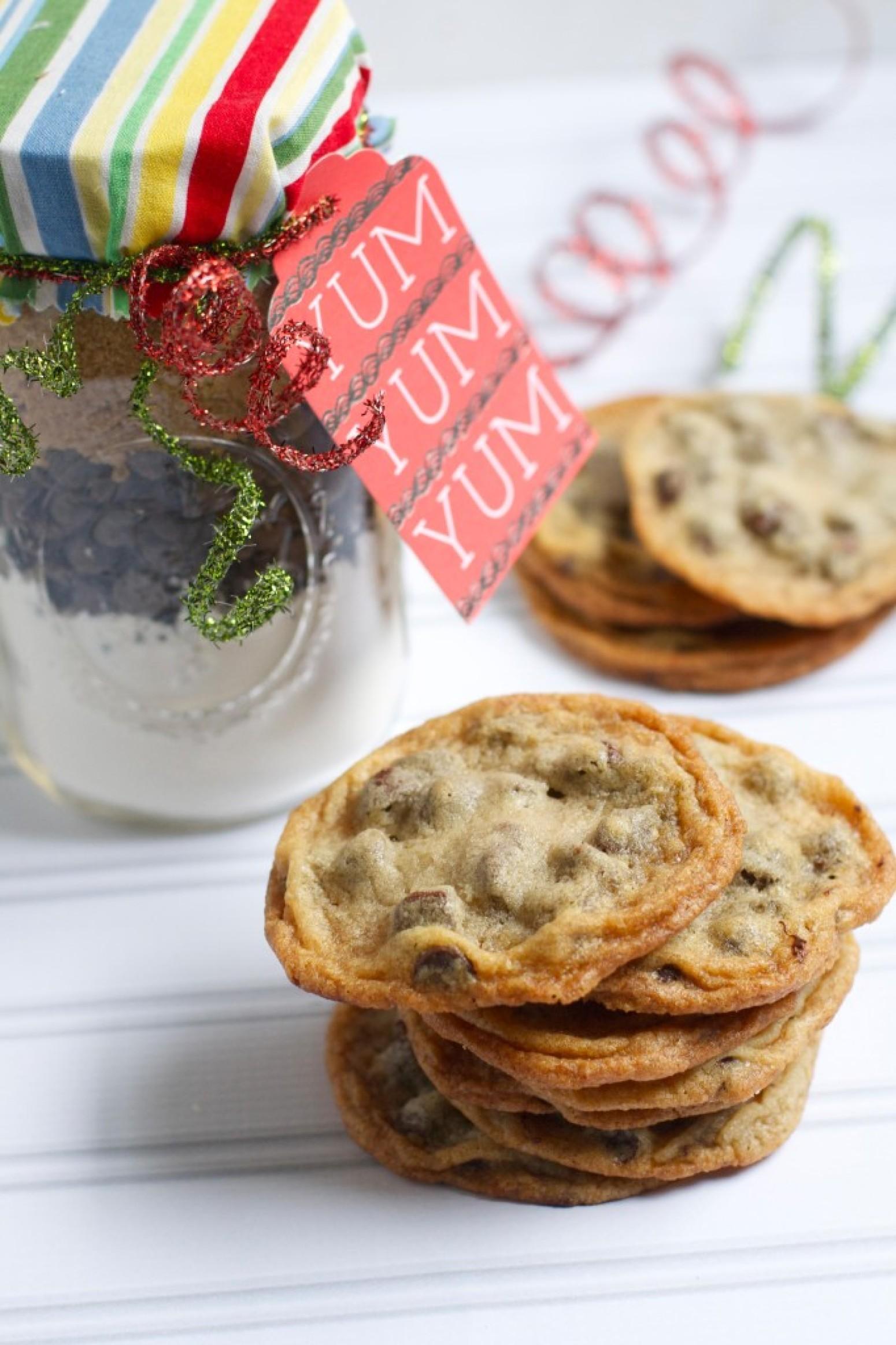 Chocolate Chip Cookie Recipe In A  Oz Jar
