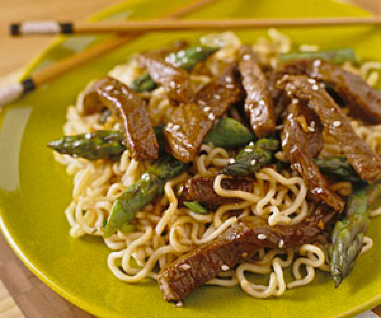 Sesame Beef and Asparagus Stir-Fry Recipe 3 | Just A Pinch Recipes