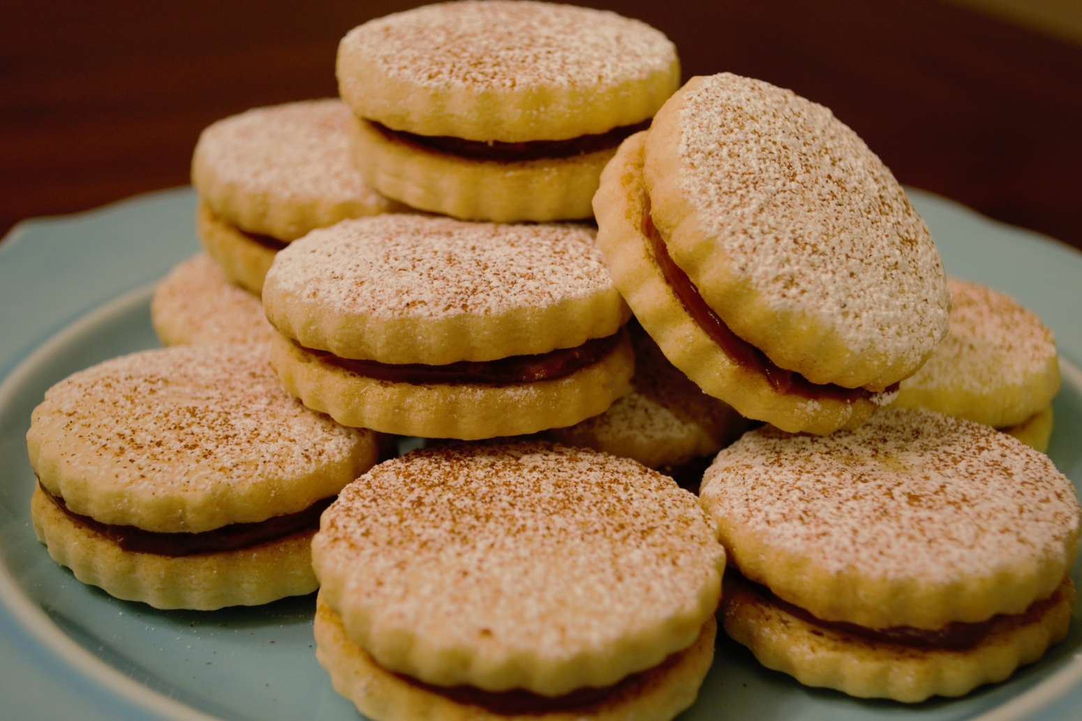 Alfajores (Dulce de Leche Sandwich Cookies) Recipe 3 | Just A Pinch ...