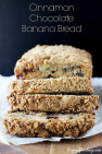 Cinnamon Chocolate Banana Bread Recipe