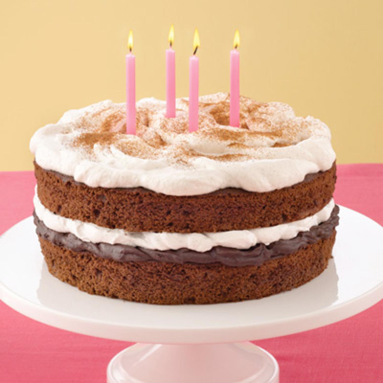 Cinnamon Fudge Birthday Cake Recipe | Just A Pinch Recipes